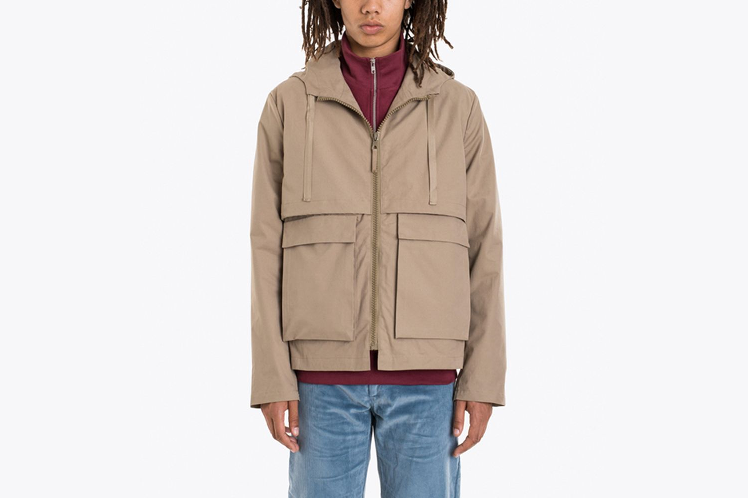 Two Layer Short Parka