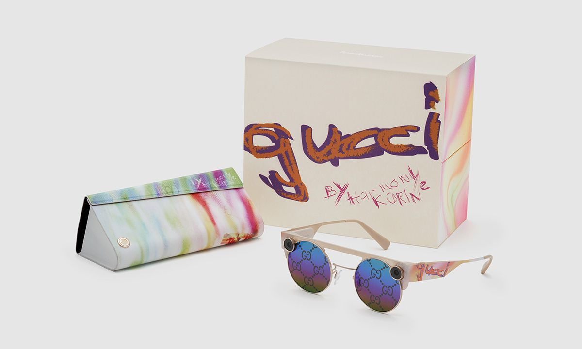 Harmony Korine & Gucci Debut Snapchat Glasses You'll Want to Wear Always