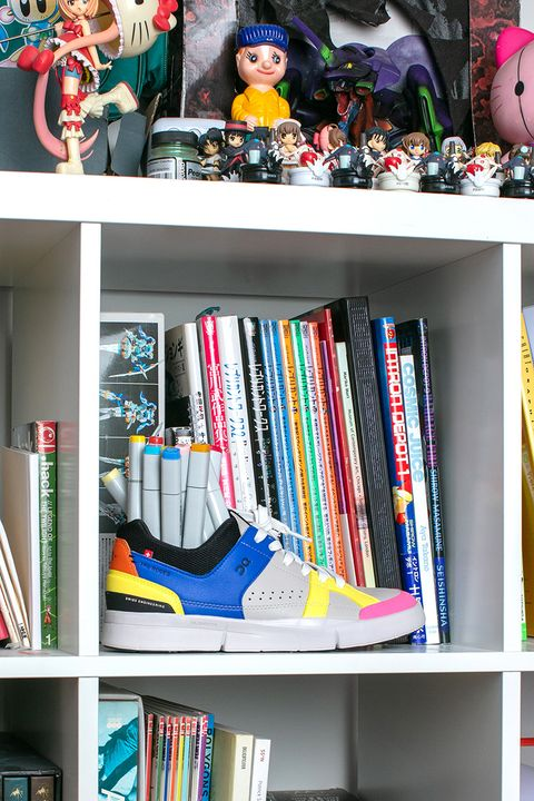 Meet the Artist Imagining ON's New ROGER Clubhouse Sneaker as a Person 20