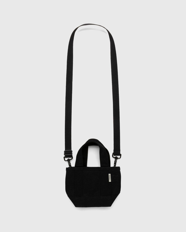 Highsnobiety – Heavy Canvas Small Crossbody Tote Black - Image 2