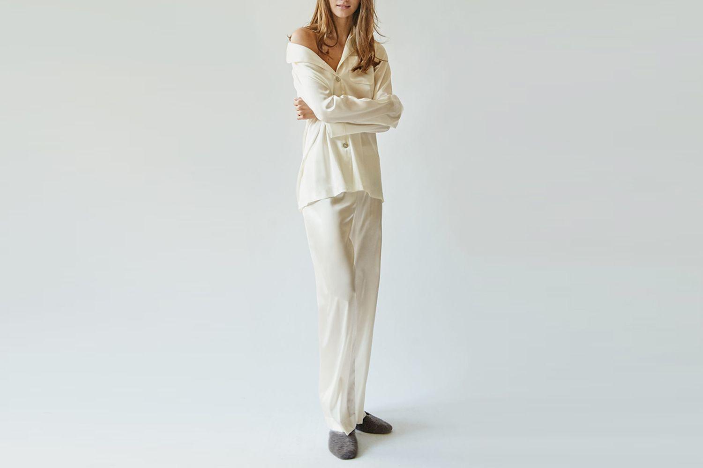 Love Me Tender Silk Pajama Set