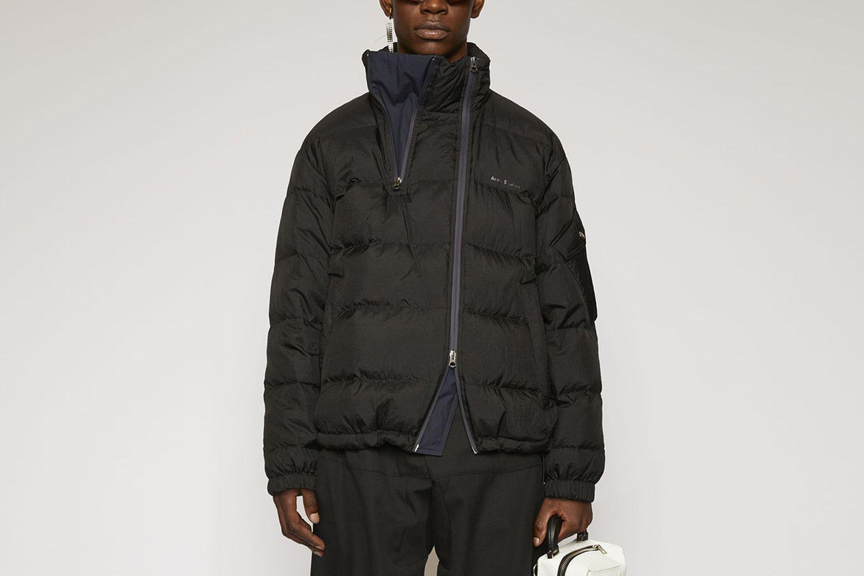 Double-Zip Down Jacket