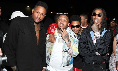 """d213413cea41 Quavo, 21 Savage, YG & Meek Mill Feature on Mustard's New Song """"100 Bands"""""""