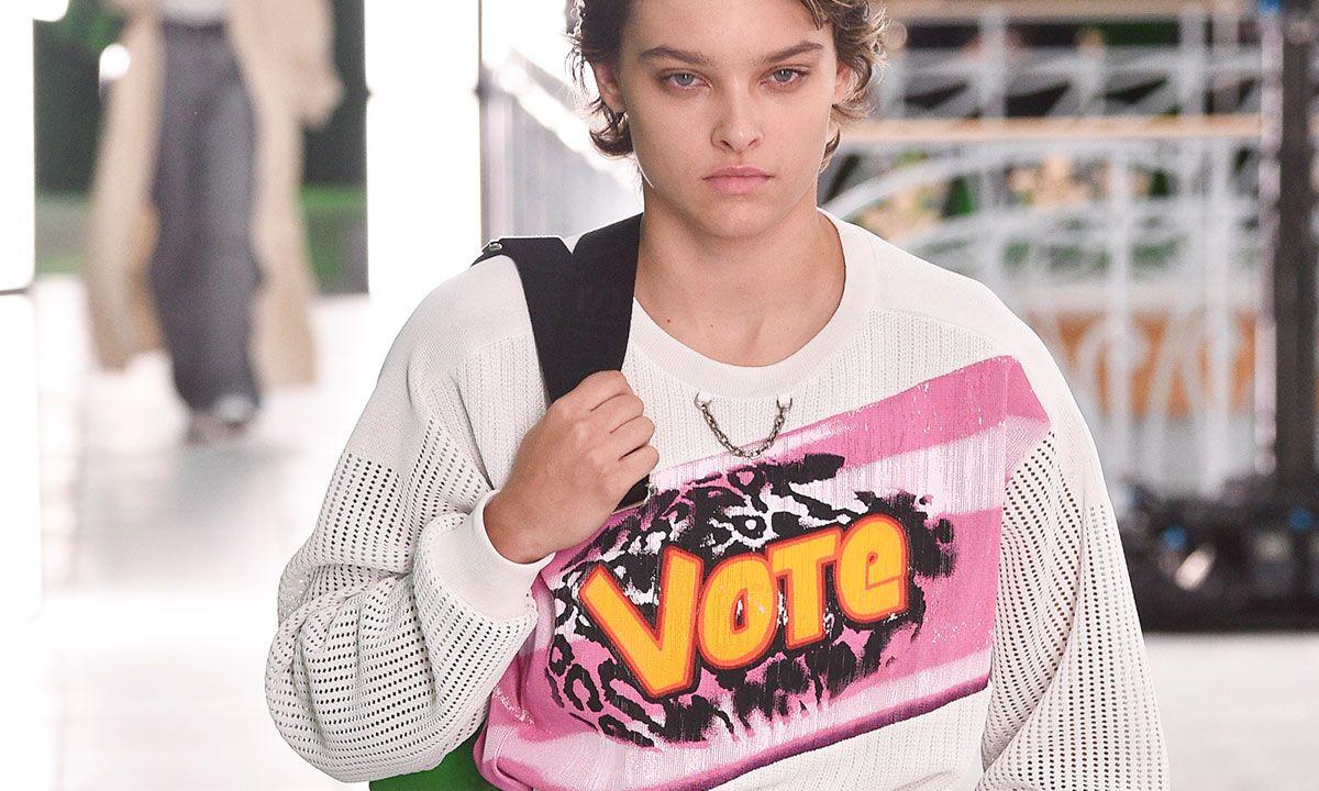 Louis Vuitton's Vote Jumper Was Good, But It Could Do More