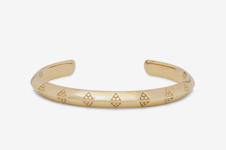 Viking 9-Karat Gold Cuff