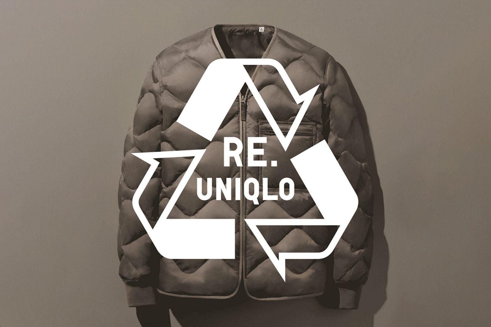 UNIQLO down recycling