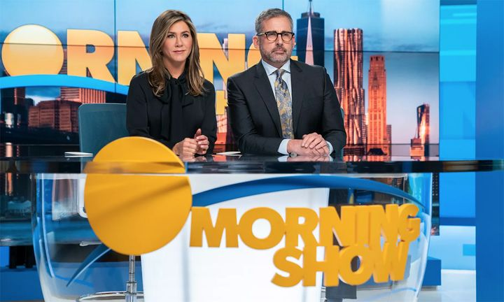 Jennifer Aniston and Steve Carell The Morning Show