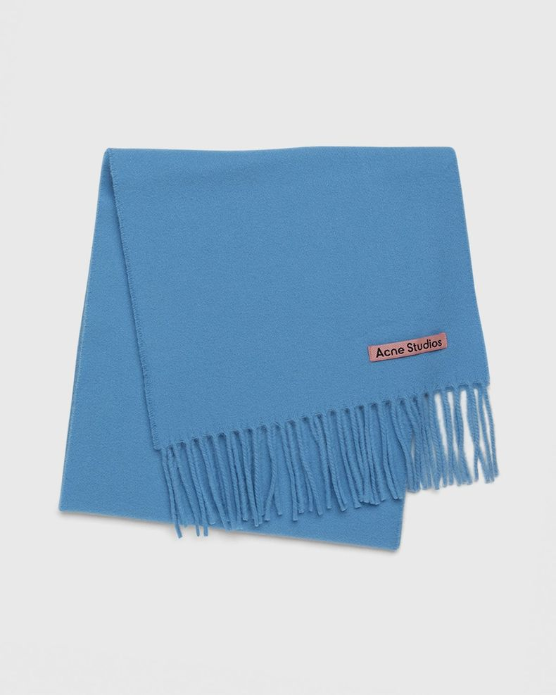 Acne Studios – Canada Skinny Scarf Azure Blue