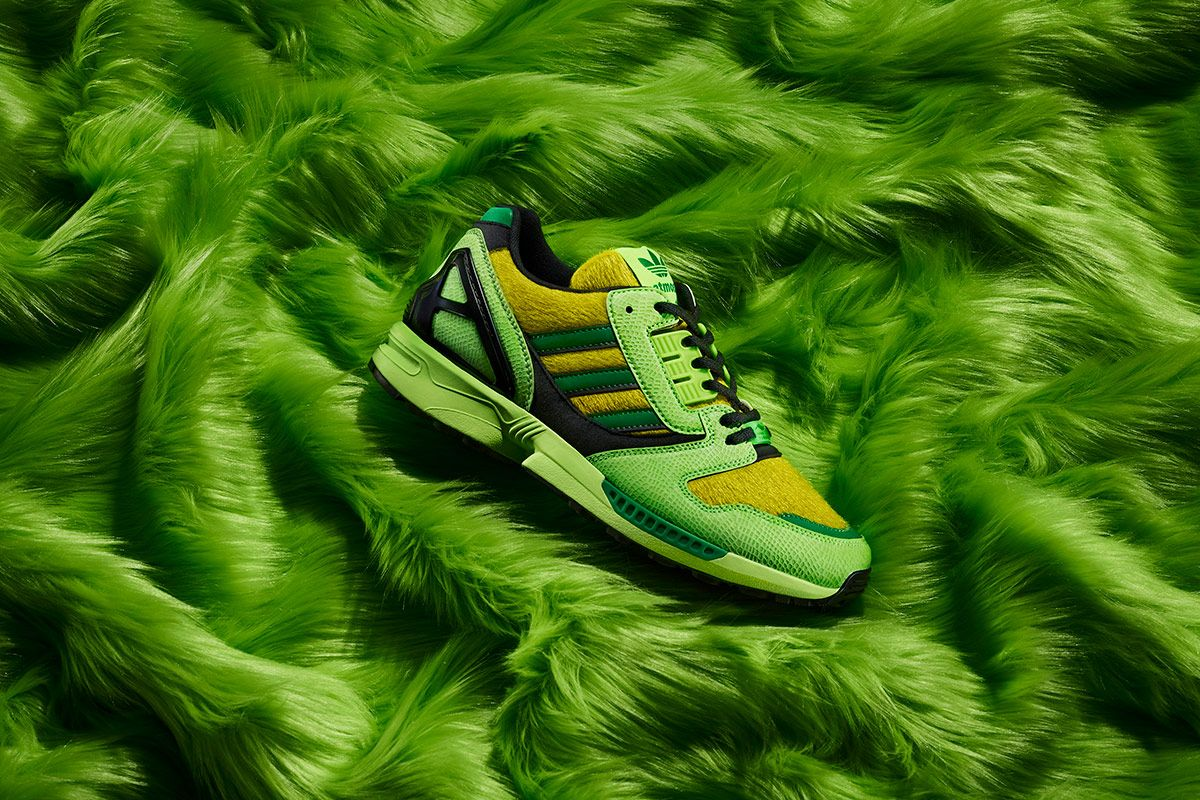 atmos x adidas ZX 8000 G-SNK campaign image
