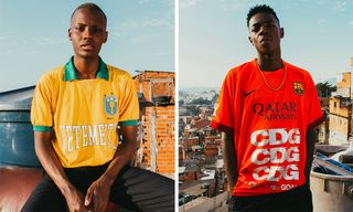 Les Vêtements de Football Debuts High Fashion-Inspired Jersey Capsule