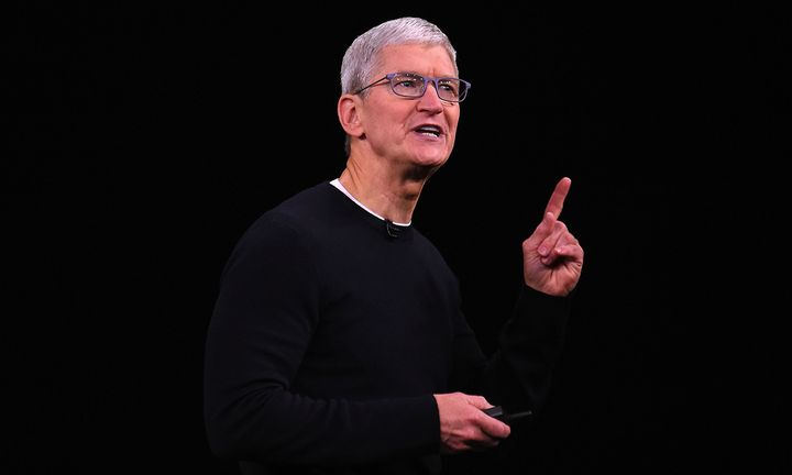 Tim Cook speaking
