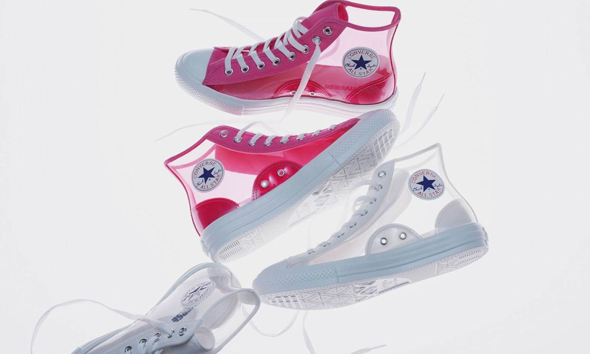 Converse Chuck Taylor All-Star Light Clear Material Hi ...