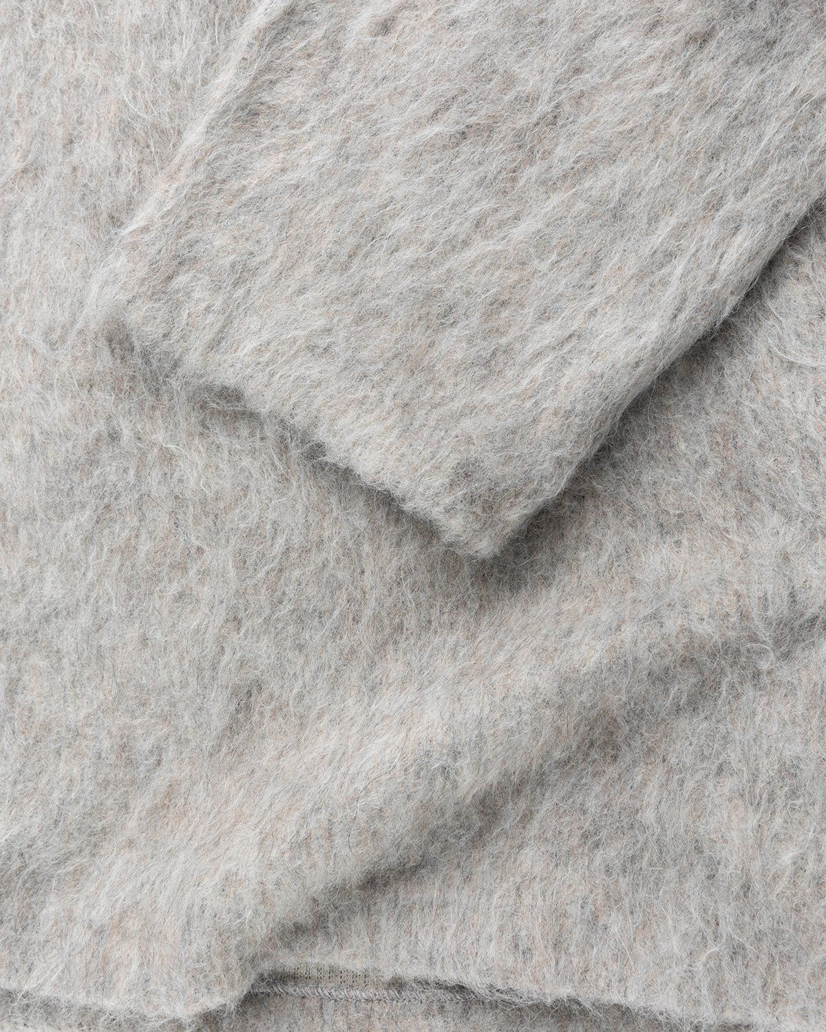 Our Legacy - Double Lock Sweater Grey Alpaca - Image 4