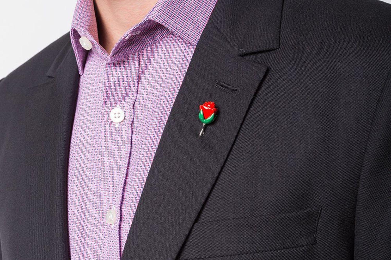 Rose Stick Pin