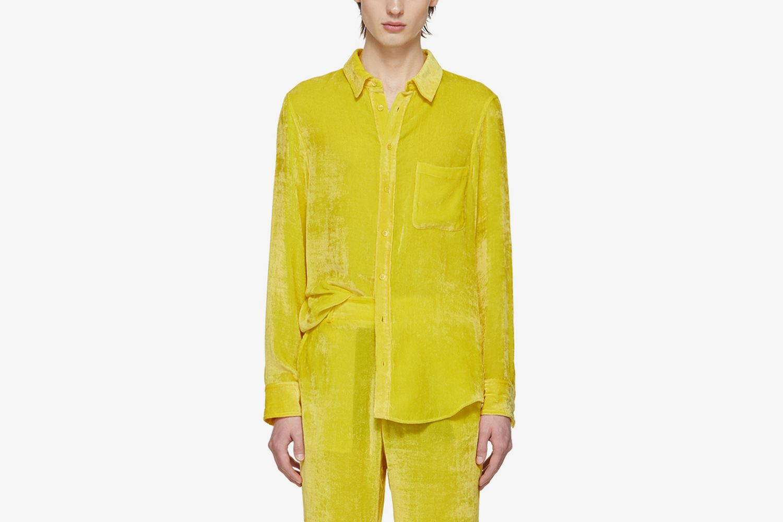 SSENSE Exclusive Velvet Cord Shirt