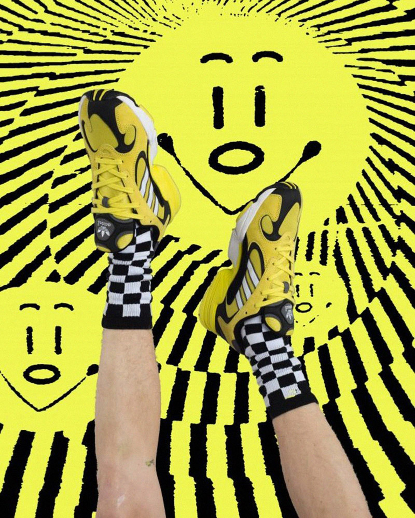 tktk smiley faces MISBHV adidas Yung 1 chinatown market