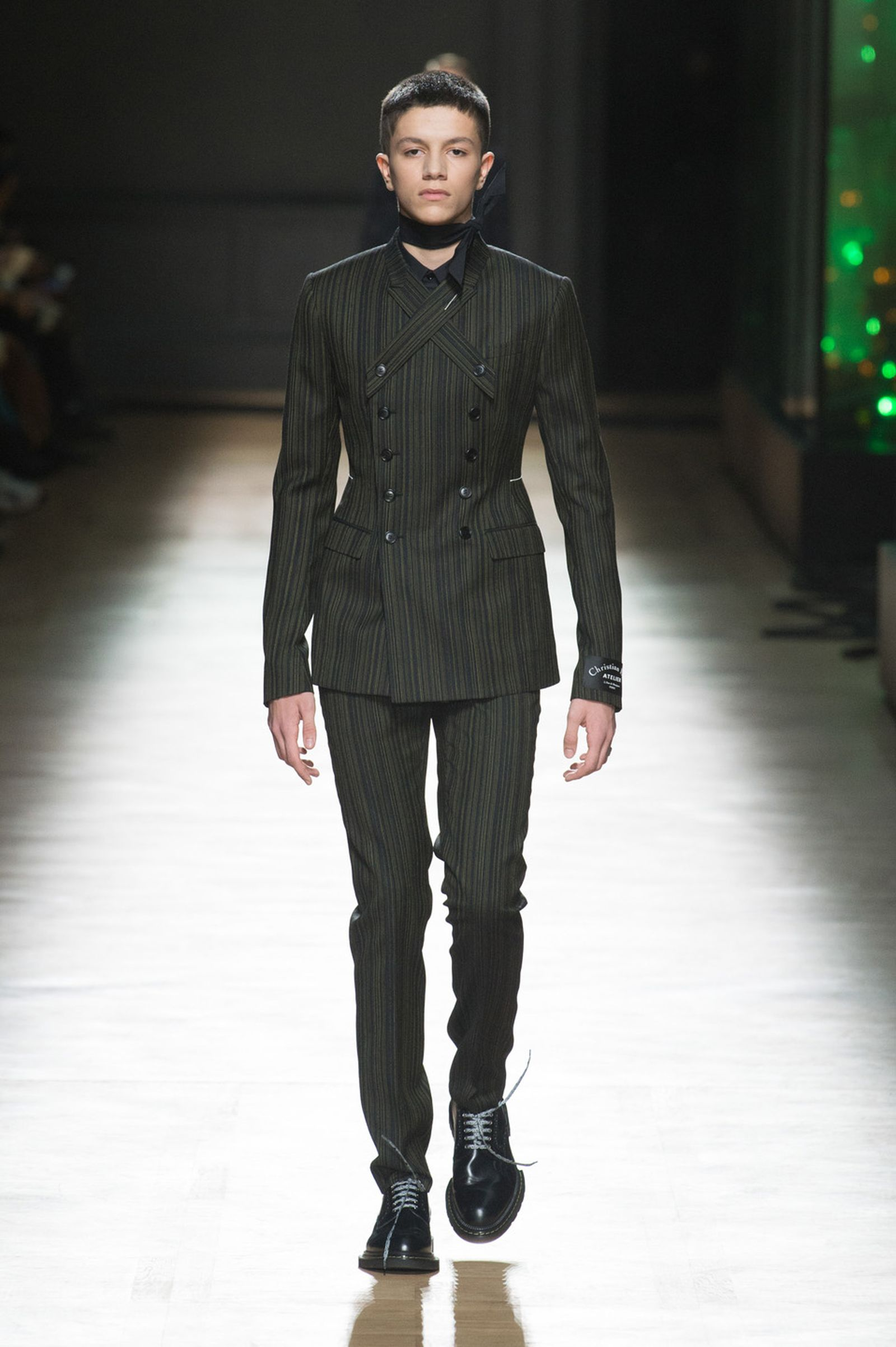 DIOR HOMME WINTER 18 19 BY PATRICE STABLE look42 Fall/WInter 2018 runway