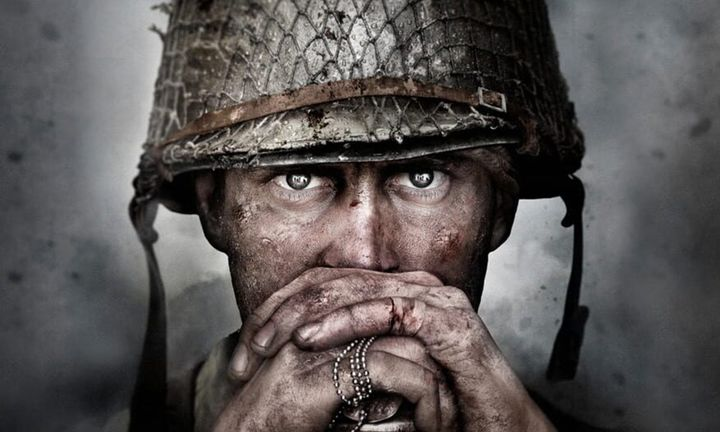 'Call of Duty: WWII' solider wearing helmet