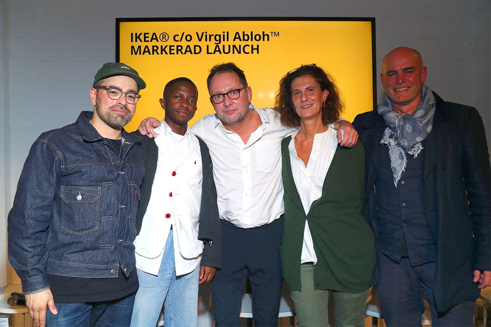 Left to right: Jeff Carvalho, Tawanda Chiweshe, Henrik Most, Galia Solomonoff, Alfred Zollinger