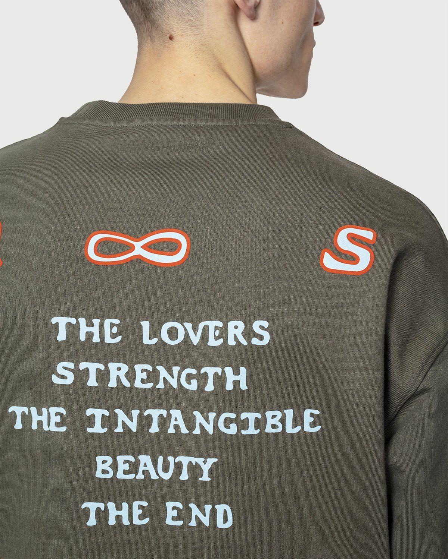 Highsnobiety — Inner Life Sweatshirt Light Military Green - Image 6
