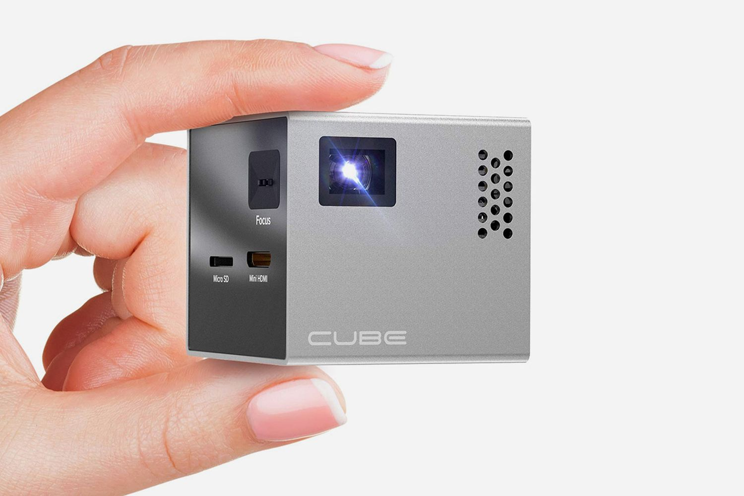 Cube Full LED Mini Projector