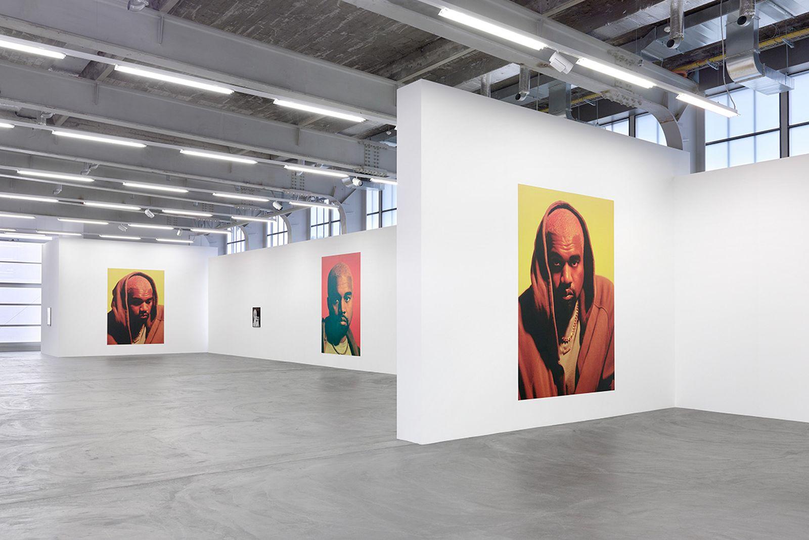 kanye exhibition heji shin Kunsthalle Zürich kanye west