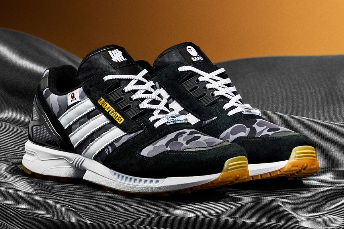 BAPE, UNDFTD & adidas Align for New ZX 8000 Colorways 3