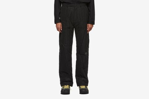 Quilted Puffer Trousers
