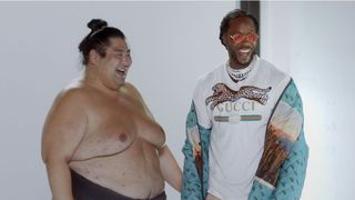 2 chainz sumo wrestling
