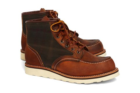 79862520ff1 The 2 classic brands Brooks Brothers and Red Wing Heritage 6 teamed up to  release a smart take on the 4553 boot. The collaboration coincides with a  series ...