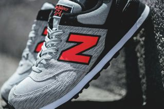 """premium selection 48e10 d9661 New Balance Releases the 574 in """"Grey Black Orange """" for Summer"""