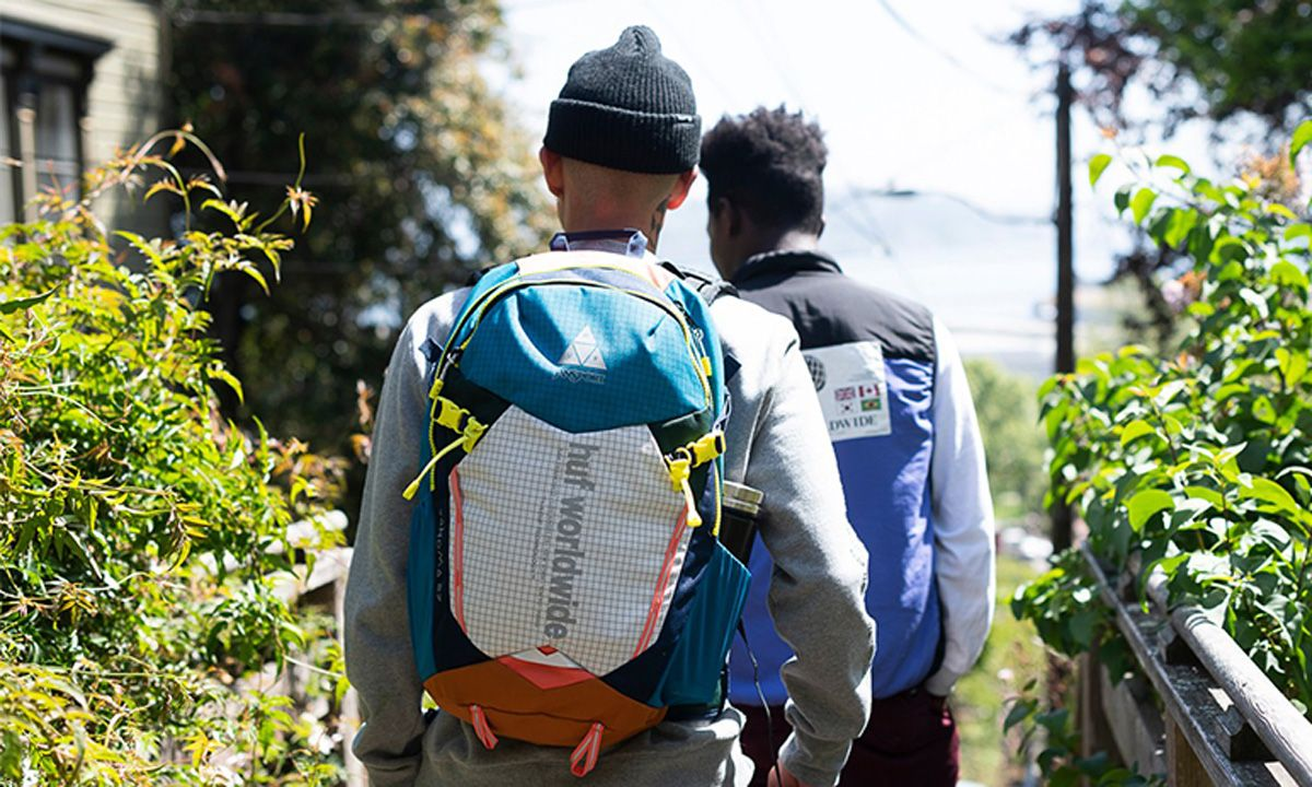 HUF x JanSport's Bag Collection for Urban Explorers Is Out Now