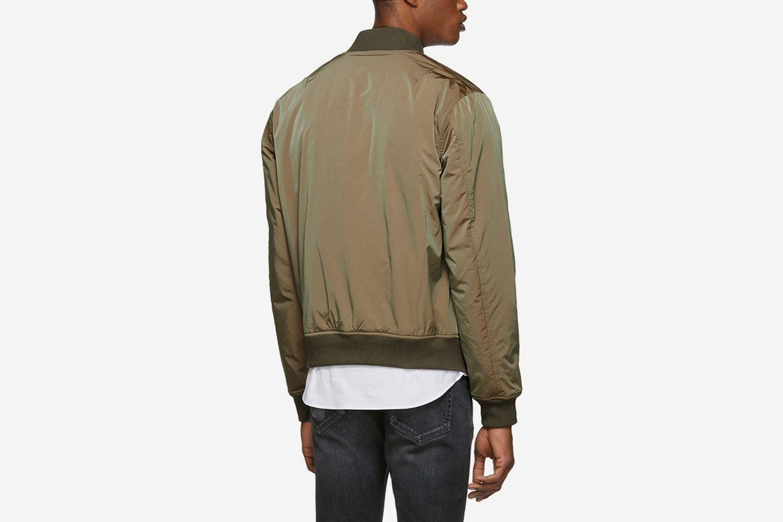 Iridescent Bomber Jacket
