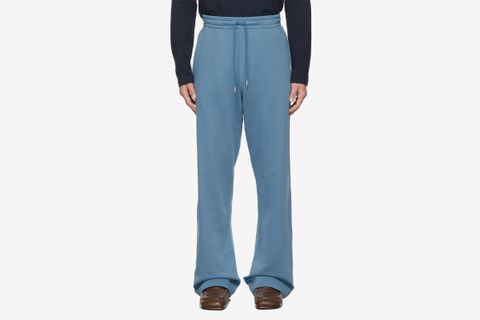Wide-Leg Lounge Pants