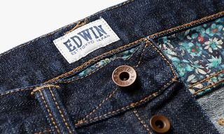 Edwin Utilise the Floral Skills of Liberty for ED-80 Jeans