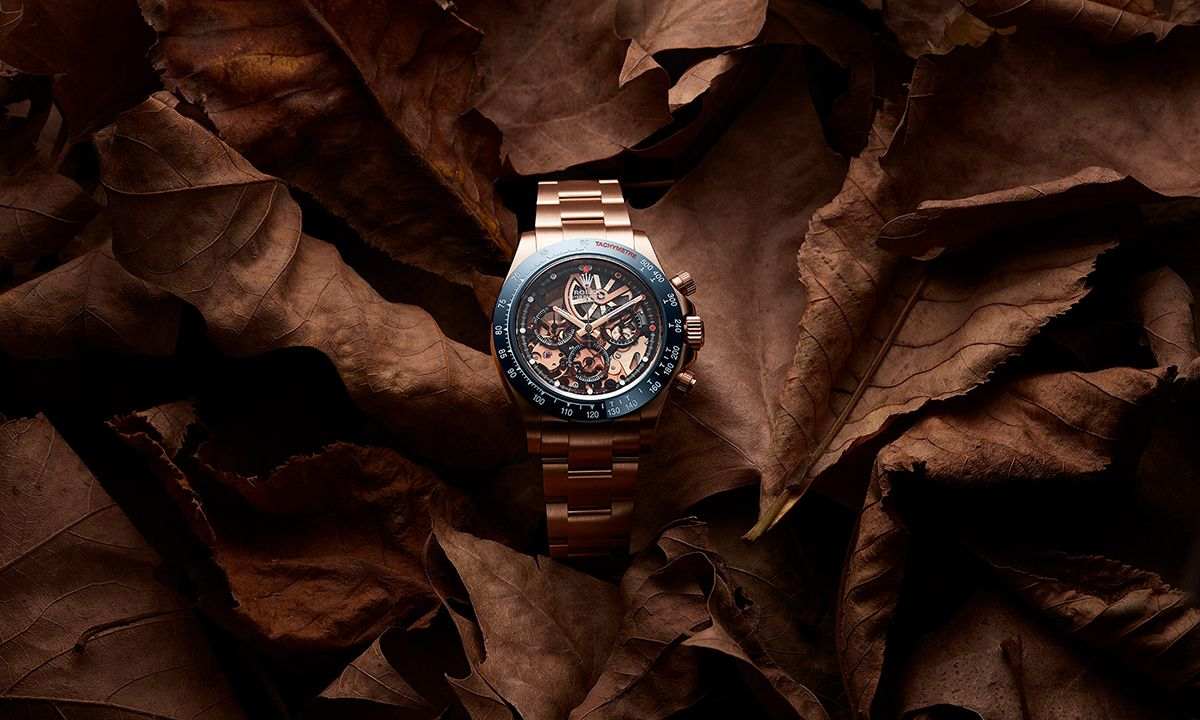 "Artisans de Genève's Lavish ""La Blausee"" Gold Watch Is Inspired by Autumnal Colors"