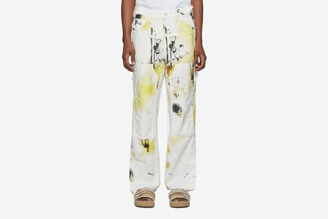 Futura Edition Abstract Carpenter Jeans