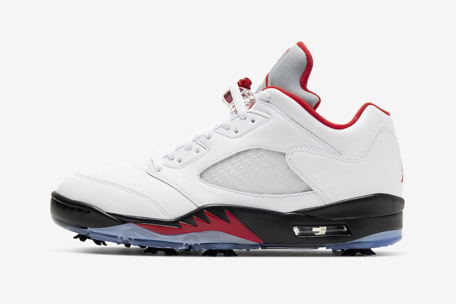 "Air Jordan 5 Low Golf ""Fire Red"""