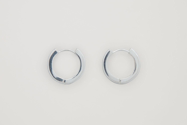 Sterling-Silver Hoop Earring