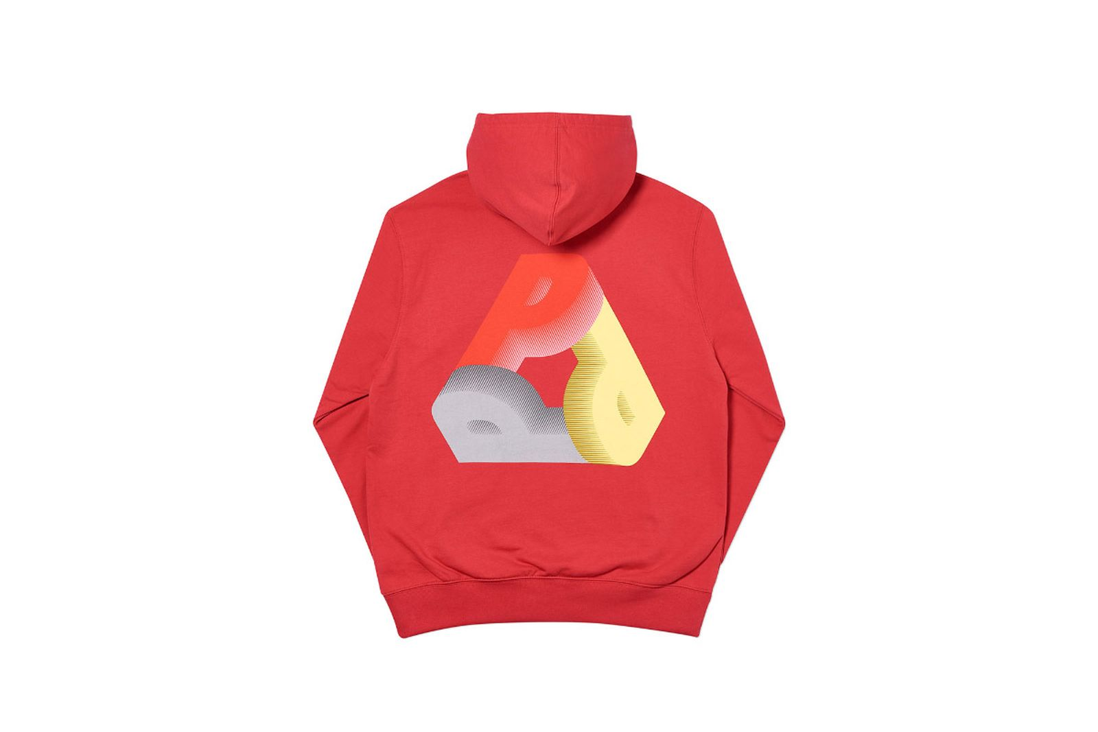 Palace 2019 Autumn Hood Phat P Red Back
