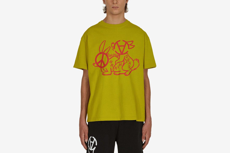 Slam Jam Anarchy Bunny Love T-shirt