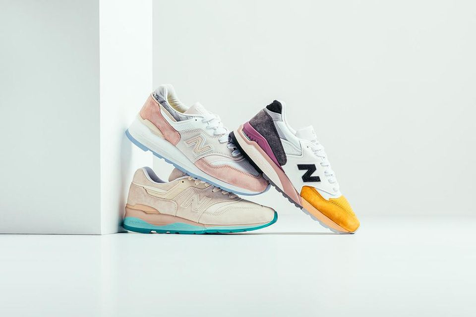 """New Balance's """"Coastal"""" Pack Is a Nod to Beachside Sunsets"""