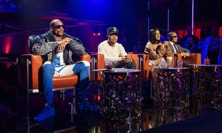 Snoop Dogg Chance the Rapper Cardi B T.I. Rhythm + Flow Netflix show