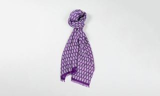 Needles Cashmere & Silk Mix Print Scarves For Fall Winter 2013