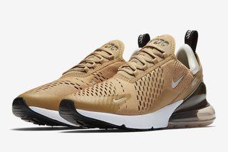 "c8acadd8df Nike's Air Max 270 Returns in ""Elemental Gold"""