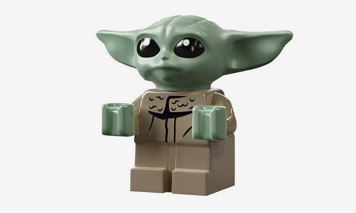 Type mini figure lego star wars mandalorian baby bebe yoda