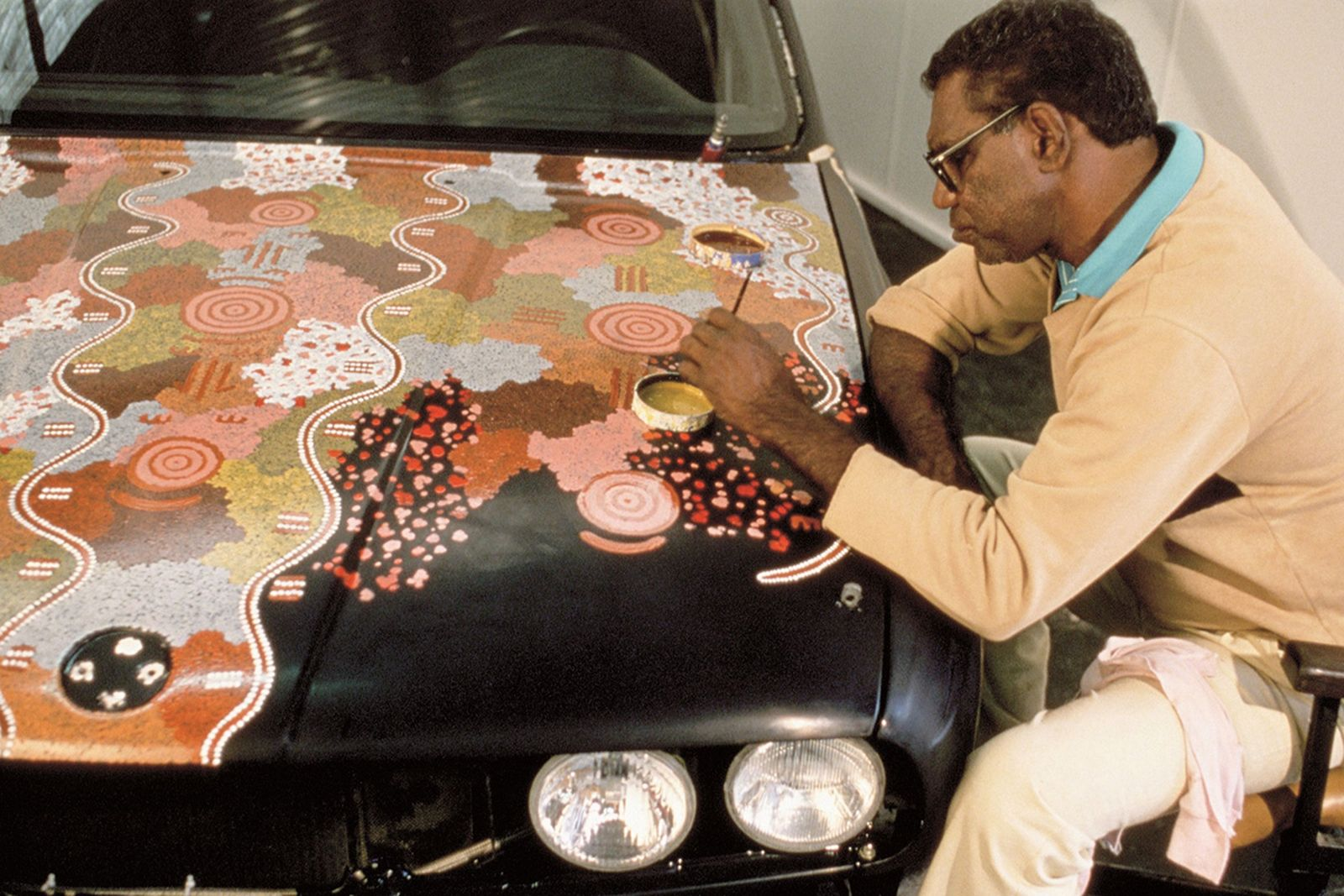 BMW Art Car 06, Michael Jagamara, 1989