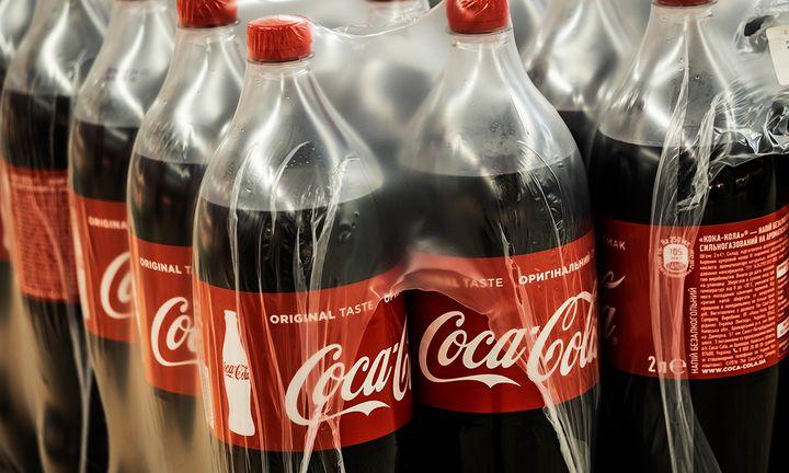 Coca Cola plastic bottles