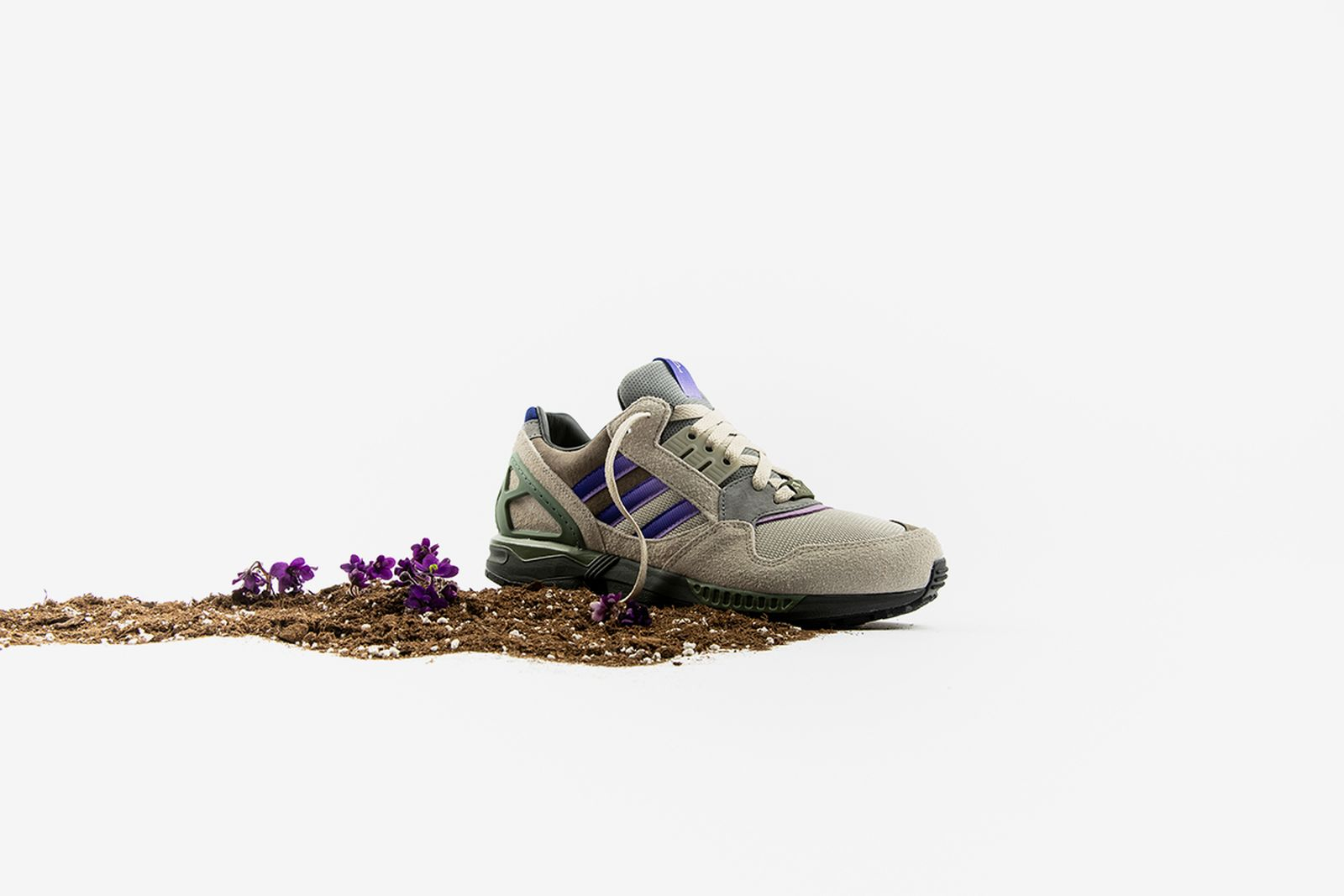 """Packer x adidas ZX 9000 """"Meadow Violet"""""""