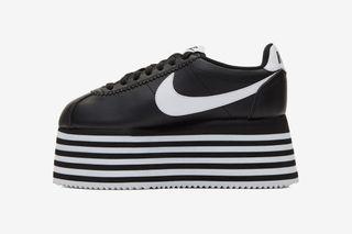 newest collection ff24d 575e3 COMME des GARÇONS x Nike Cortez Platform: Release Date ...